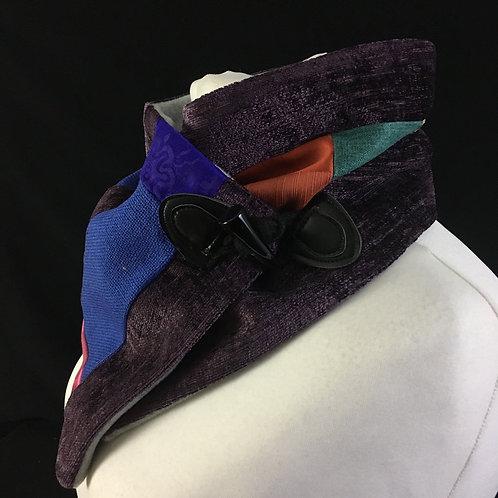 Purple blue and orange