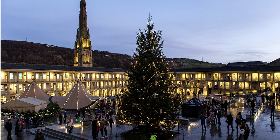 THE PIECE HALL CHRISTMAS MARKET