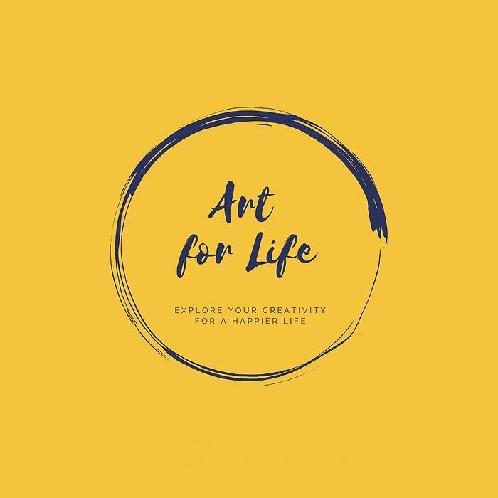 Art for Life circle plain yellow.png