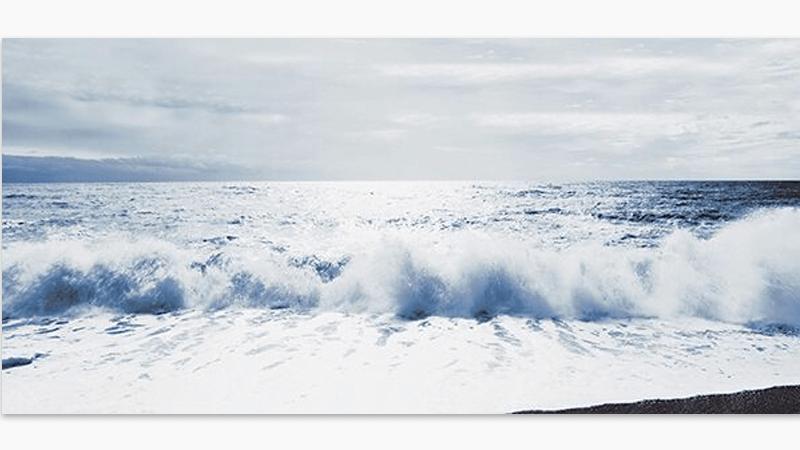 Waves at Brighton