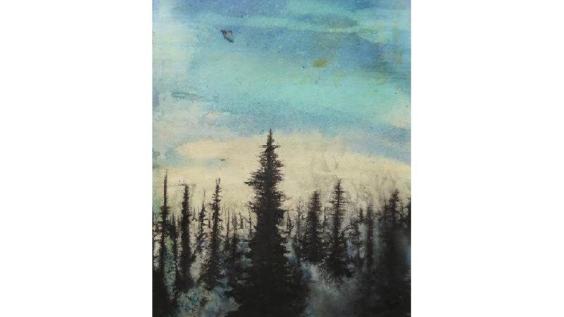 Dawn Forest (detail)