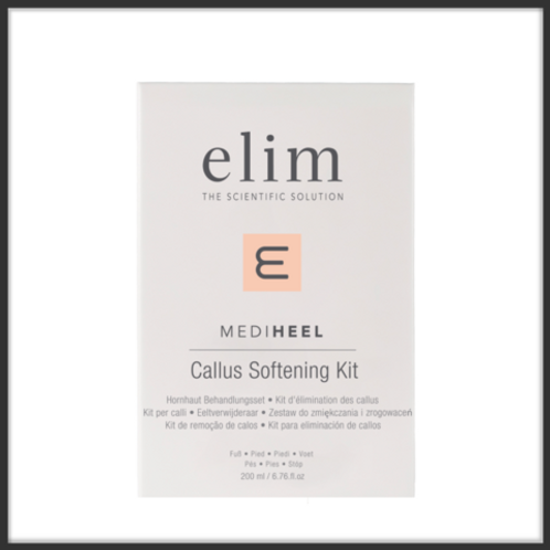 ElimMediHeel Callus Softening Kit