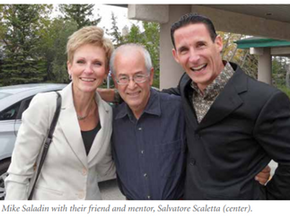 Saladins support MUSC and honor high school mentor through their estate plans
