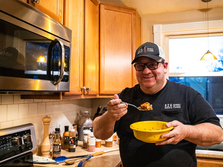COOKING WITH BIG RICH - Cauliflower Rice and Shrimp