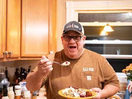 COOKING WITH BIG RICH - Grilled Turkey Dinner