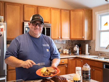 Cooking With Big Rich - Smoked Bacon Wrapped Meatloaf