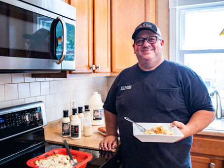 COOKING WITH BIG RICH - Baked Chicken and Ravioli