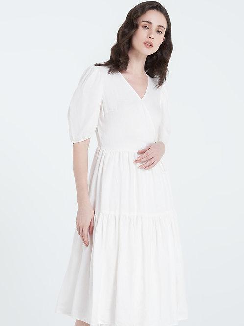 MORISOT DRESS - WHITE