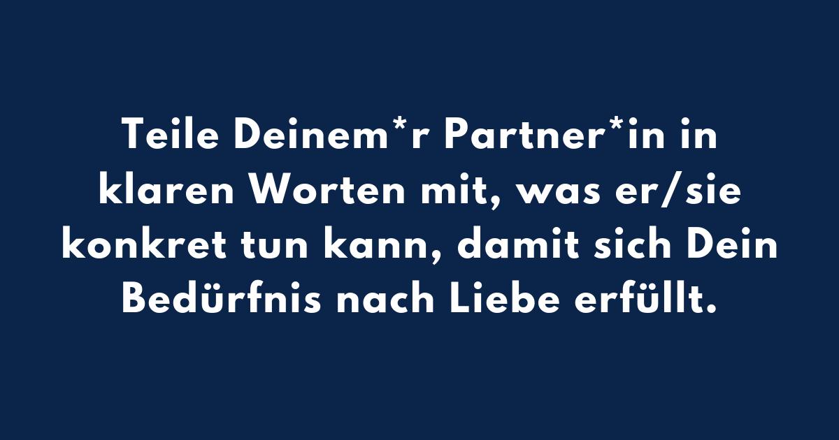Praxistipp | Partner*in, Liebe