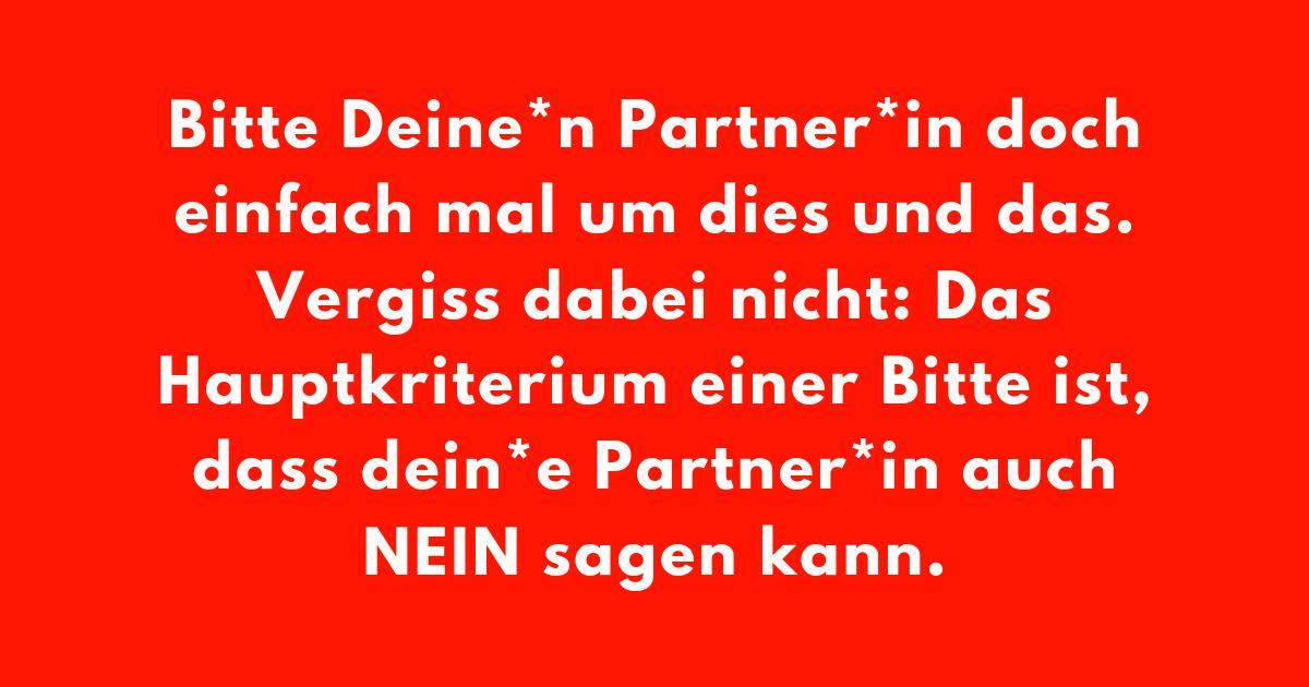 Praxistipp | Partner*in, Bitte