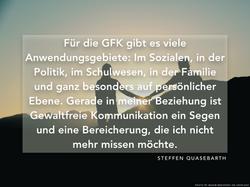 Zitat | GFK, Beziehungen