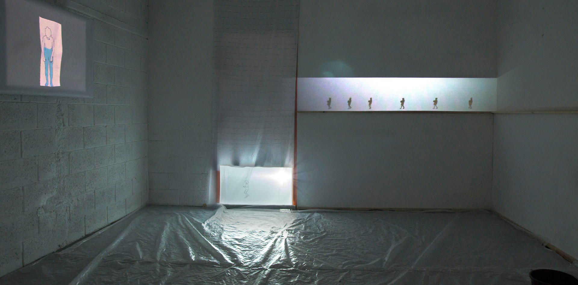 The video installation