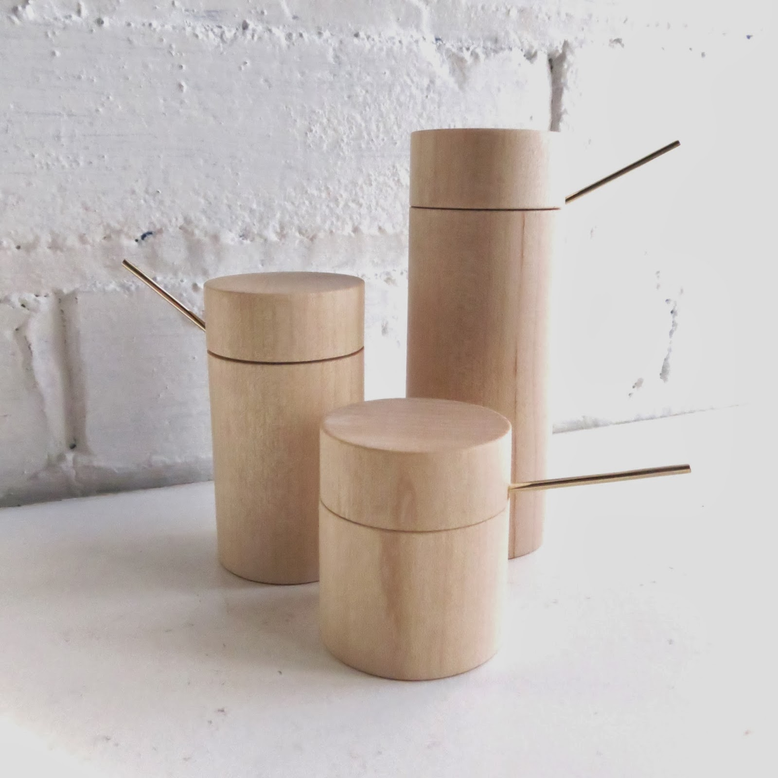 Basswood Salt Cellars