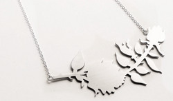 New York Floral Necklace