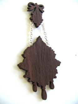 Ladies Lumberjack Alliance Brooch