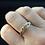 Thumbnail: 14K Yellow Gold Gimmel Ring. Protective Hands Ring
