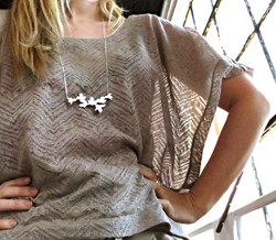 Forsythia necklace