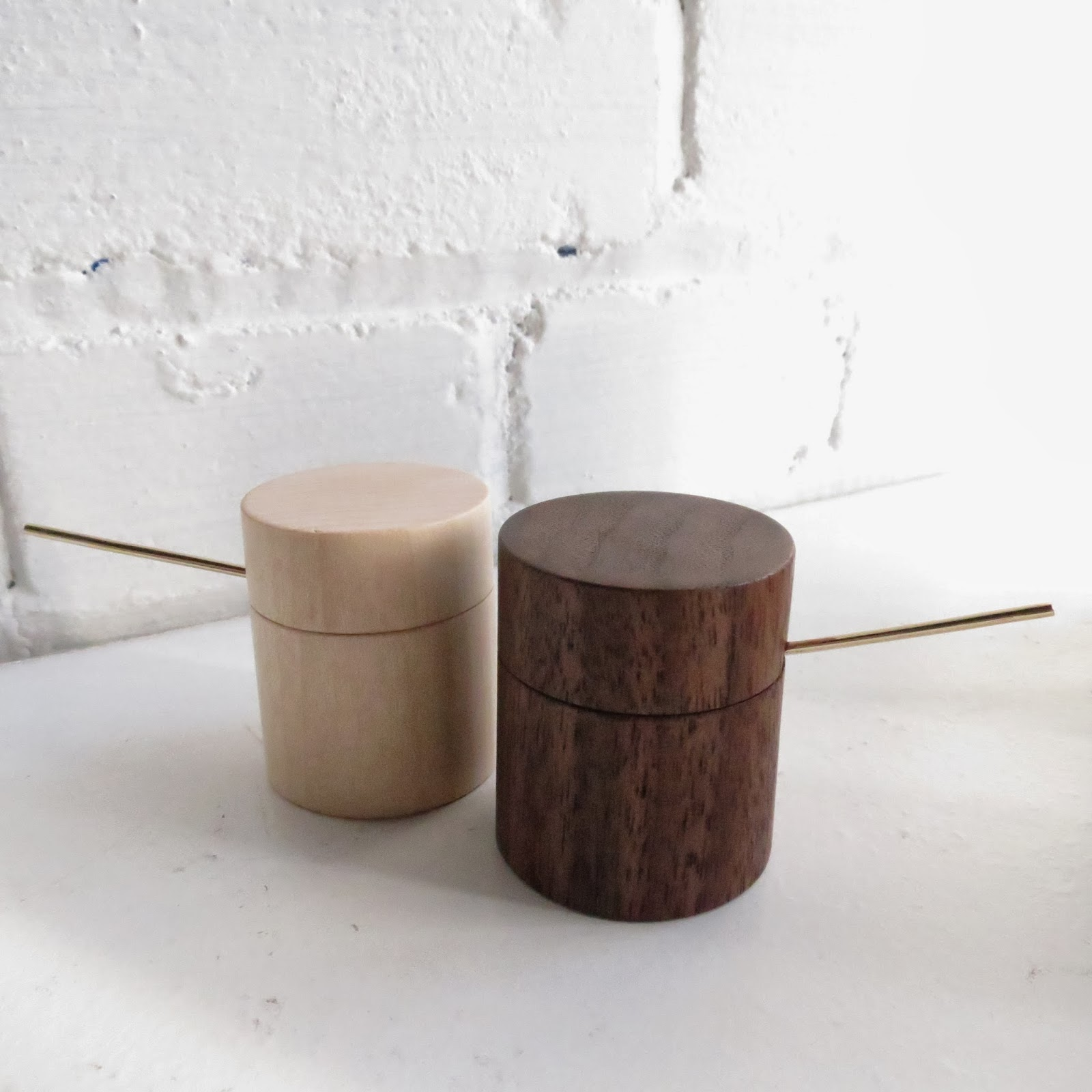 Little Salt Cellars: Basswood/Walnut