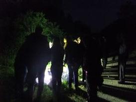 Moth night Fineshade Wood