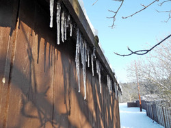 The last recorded icicles