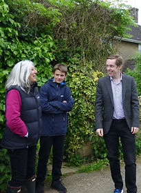 MP's visit to Fineshade Wood