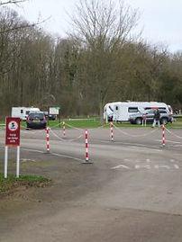 Fineshade Wood caravan site