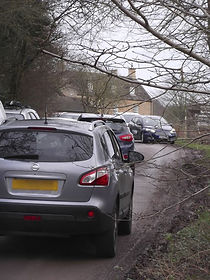 Congestion at Fineshade Wood