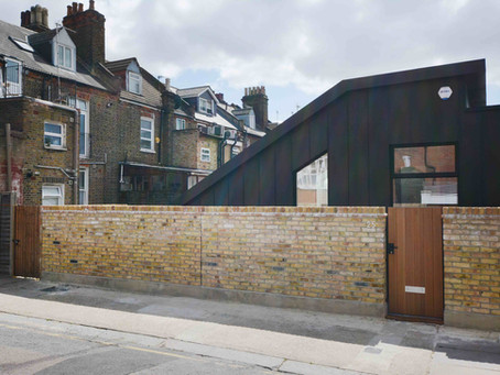Modern house design in Kensal Green - construction case study by Atelier 41 Architects