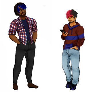 Zach and Aito: Jacket/Hoodie