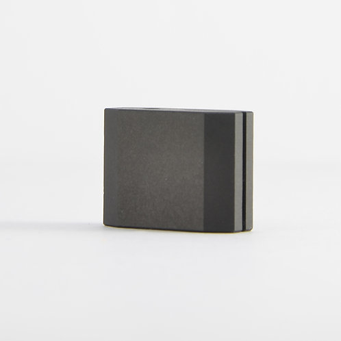 Aluminum rodblocks for Grado - Classic black ceramic