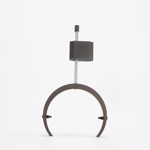 Aluminum gimbals and rodblocks set for Grado - Classic black ceramic