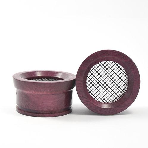 Z-style 2 Purpleheart - Wooden Grado Cups