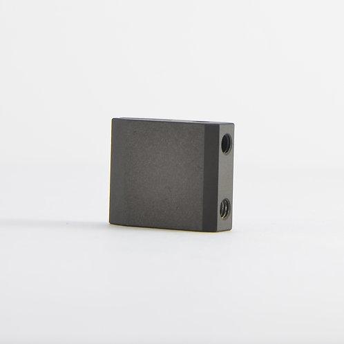 Aluminum rodblocks for Grado - Slim black ceramic