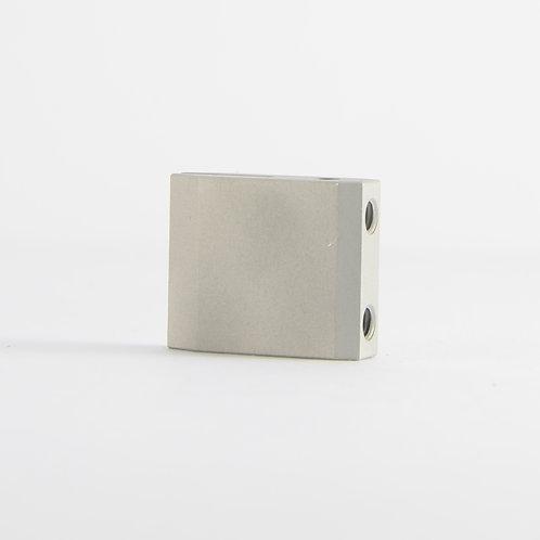 Aluminum rodblocks for Grado - Slim satin beadblasted