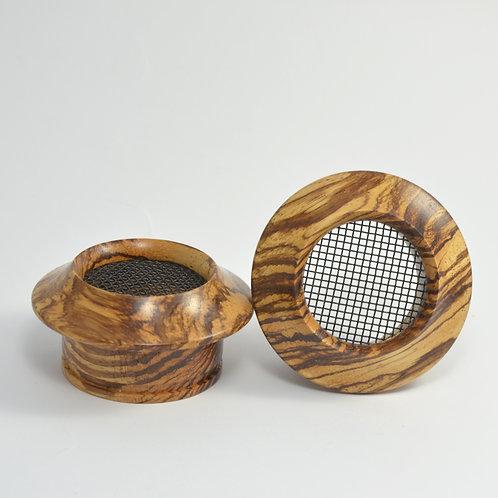 M-style 2 Zebrawood - Wooden Grado Cups