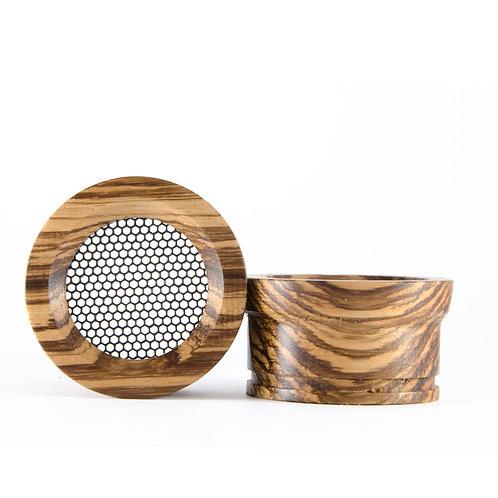 Z-style 2 Zebrawood - Wooden Grado Cups