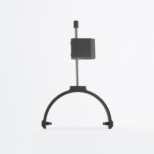 Short aluminum gimbals and rodblocks set for Grado - Slim black ceramic