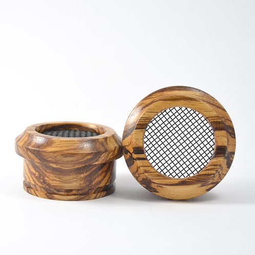 S-style Zebrawood - Wooden Grado Cups