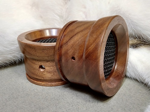 Handmade Wooden Grado Cups - Walnut #02