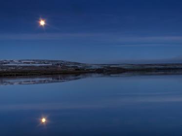 Snow Moonlight Reflection.jpg