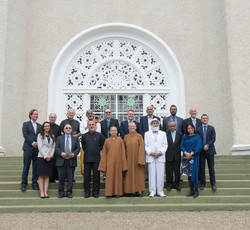 Religious Leaders' Forum held for the first time at the House of Worship in honour of the bicentenar