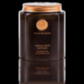 Tropical Wood Bath Salt (Sandalwood and Orange Blossom Oils) 550 g
