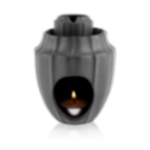 Black Lotus Massage Oil Warmer