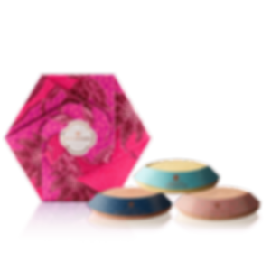 Mountain Floral Soaps Set (Rose-Lavender-Cymbopogon)