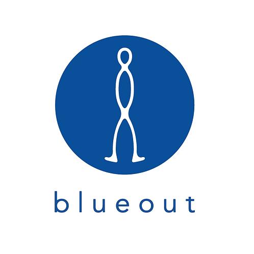 blueout クルーネックスウェット
