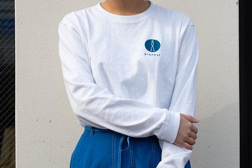 blueout ロングスリーブTシャツ