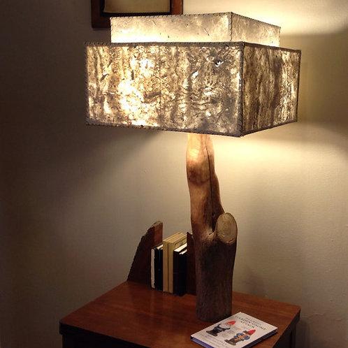 Double Shade Tree Desk Lamp