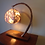 "Thumbnail: ""The Meteorite"" - Curved Willow Table Lamp"