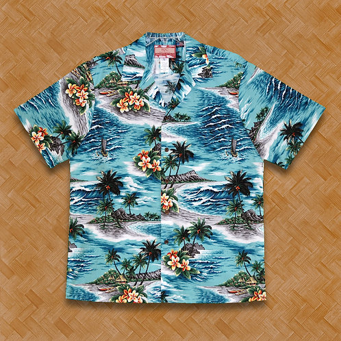RJC: Waves Beach (Turquoise)