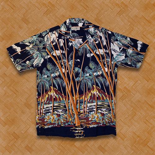 PJ: Hawaiian Palms (Navy)